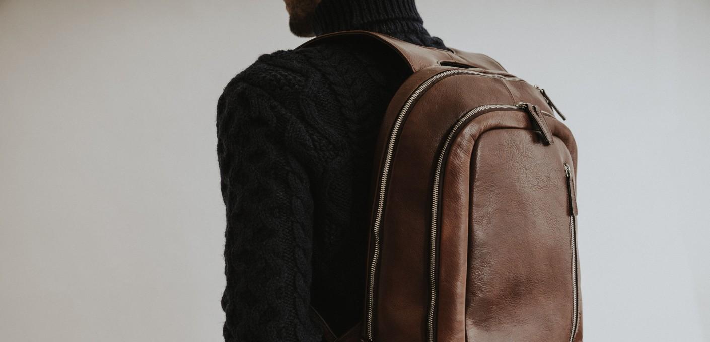 Męski plecak skórzany - połączenie wygody i elegancji