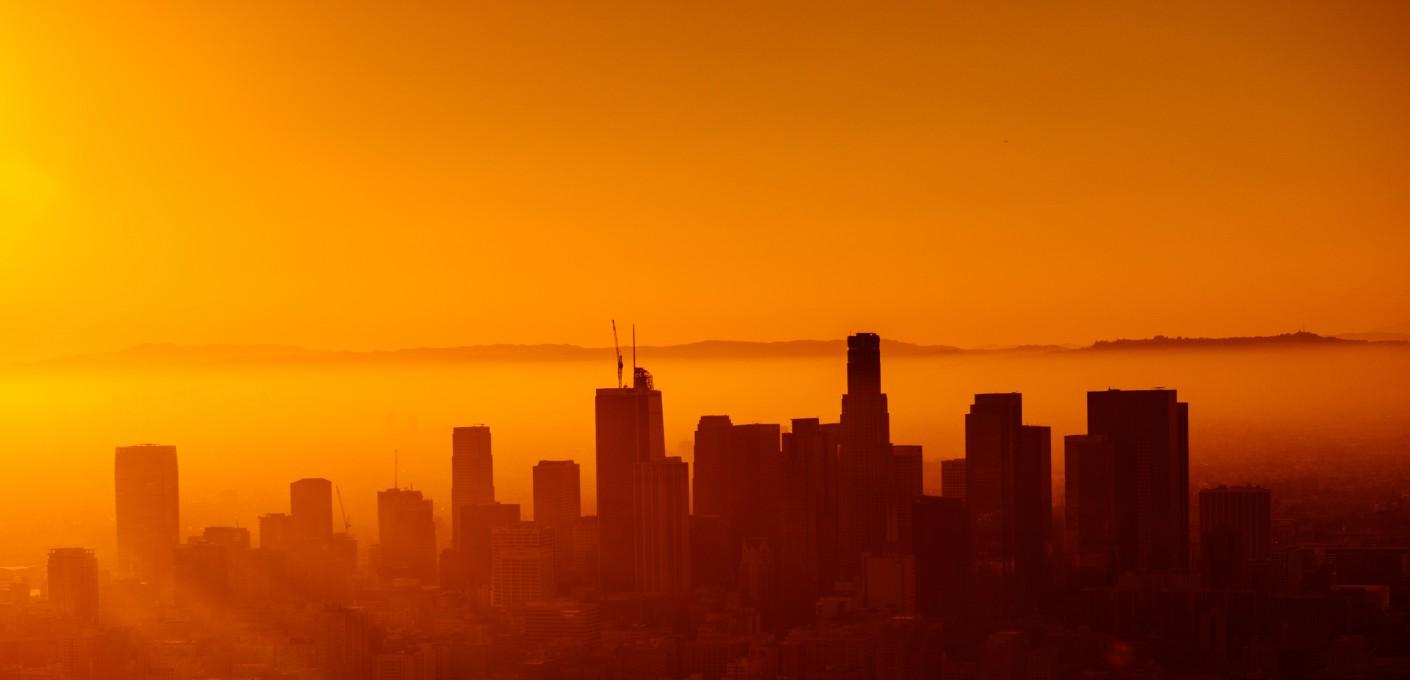 Lato w kolorze zachodzącego słońca