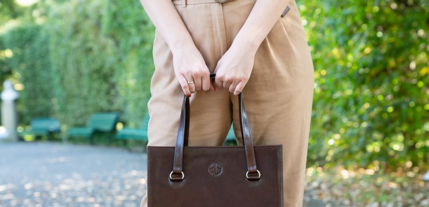 Skórzane torebki dla ambitnych i silnych kobiet