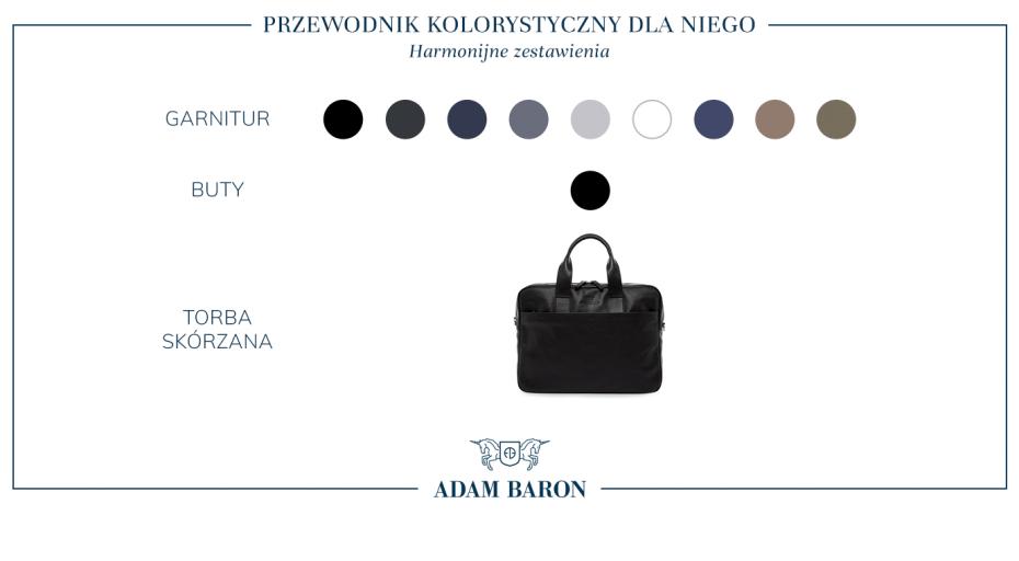 Czarna torba skórzana męska - do czego pasuje?