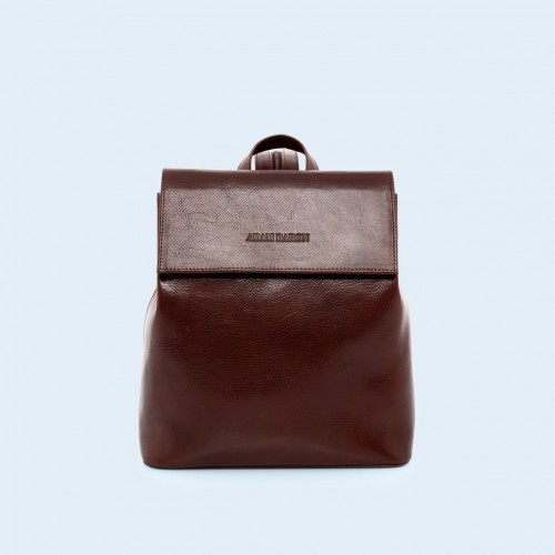 Skórzany plecak - Aware backpack chestnut brown