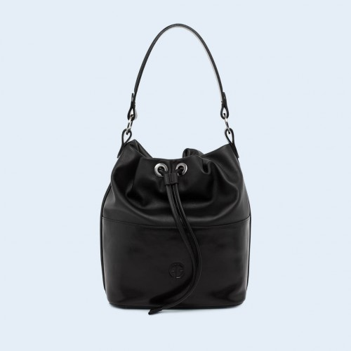 Torebka damska worek - Verity Bucket bag black/black