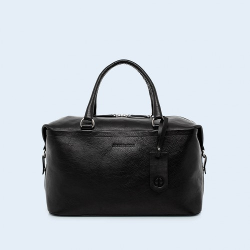 Skórzana torba lekarska - Verity Two Function medium black
