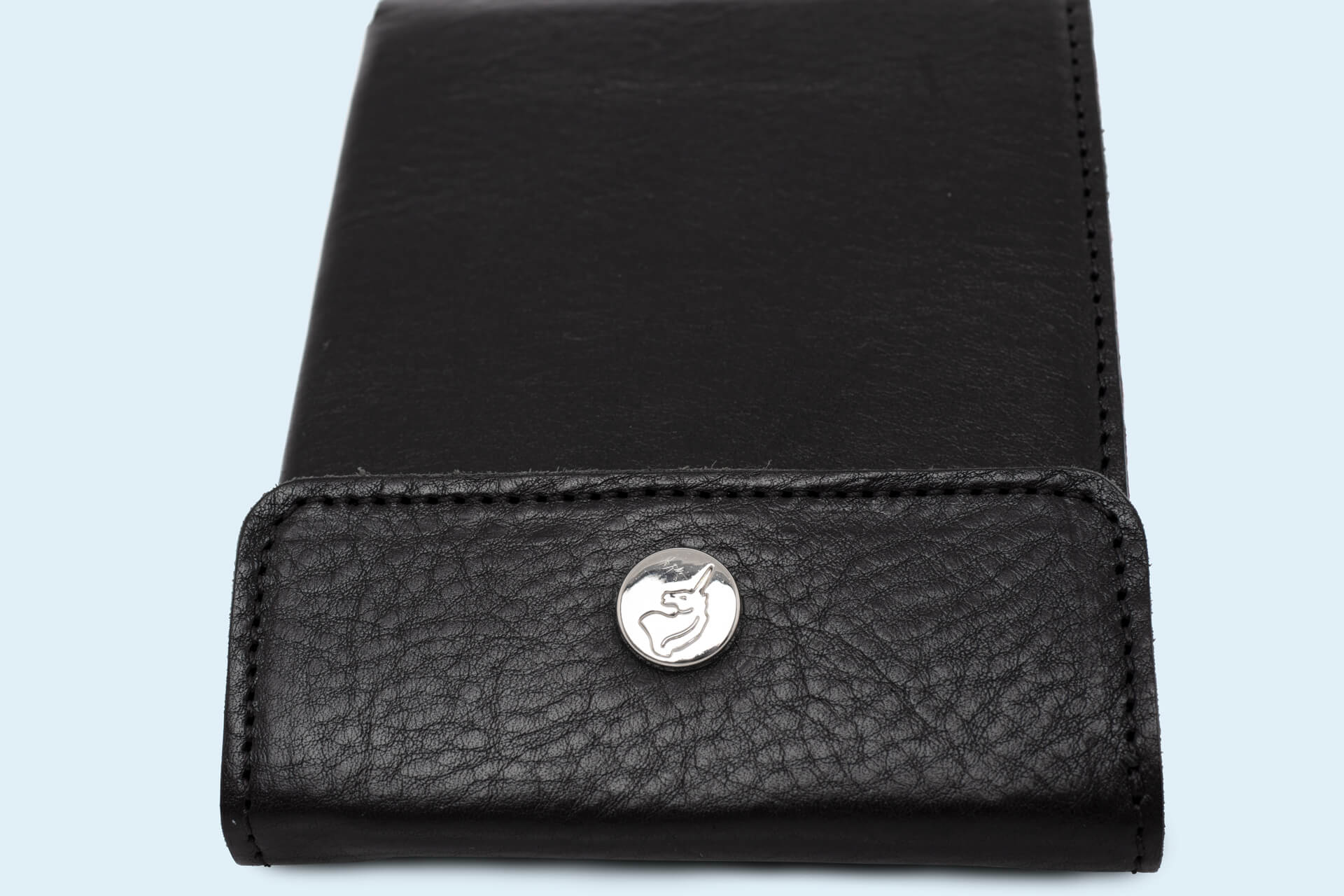 2cf9388ec1e0a Skórzany portfel męski - SLOW Coin Wallet black red
