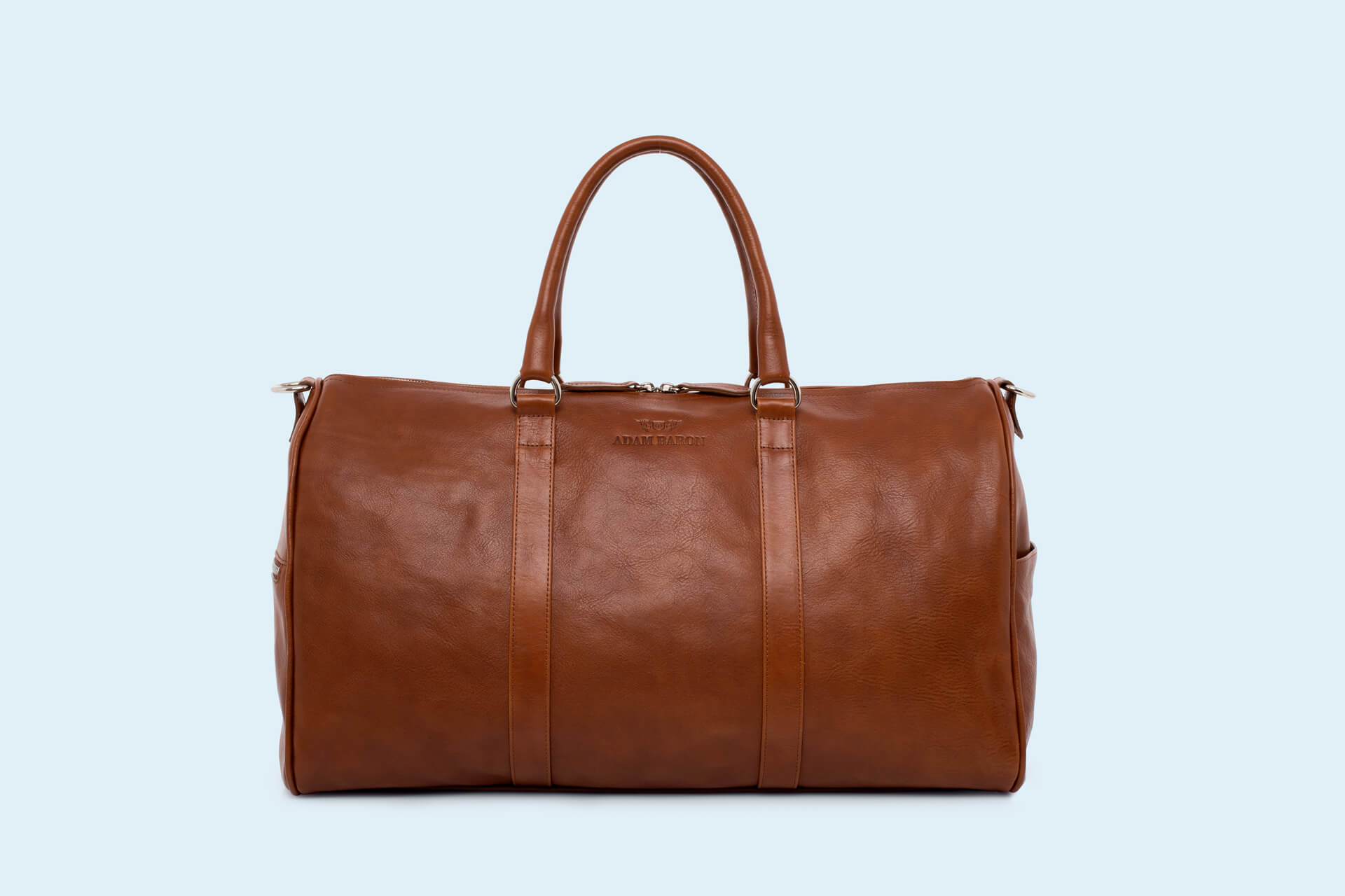 d2ac07068b1d2 Skórzana torba podróżna - Nonconformist Travel cognac   ADAM BARON