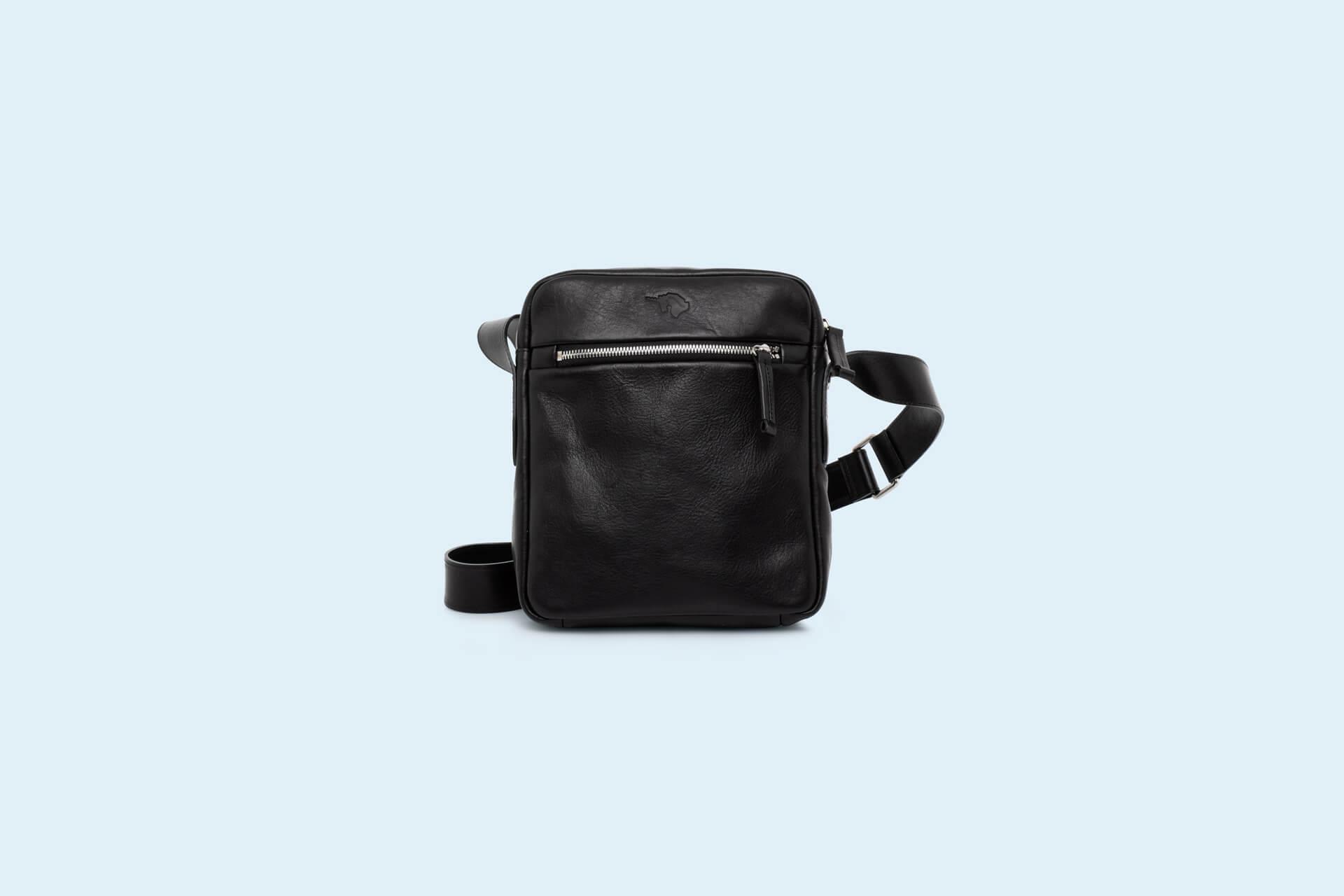e956b279018f0 Skórzana listonoszka męska - Nonconformist Messenger small bag black ...
