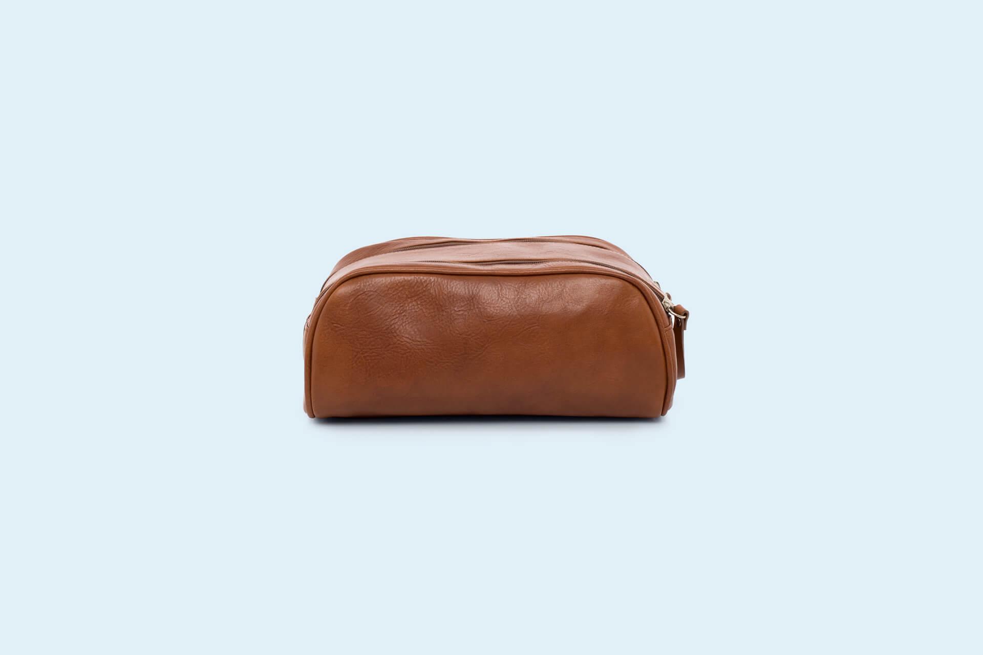 75c34045f9002 Skórzana kosmetyczka - Nonconformist Cosmetics Bag cognac