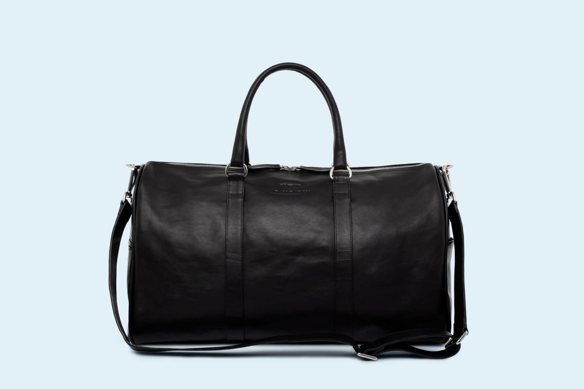 dfb718cdf7a68 Skórzana torba podróżna - Nonconformist Travel black