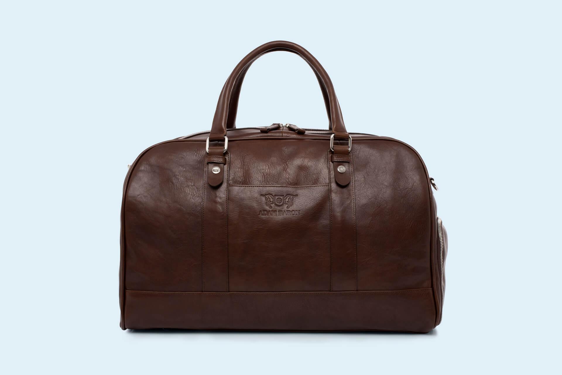 7ae78cbbc894d Skórzana torba podróżna - Verity Weekend brown